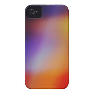Purple Yellow Red & Orange Abstract iphone 4 Case