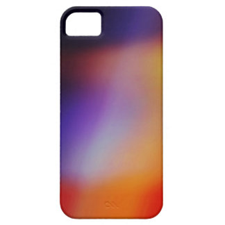 Purple Yellow Red & Orange Abstract iphone 5 Case