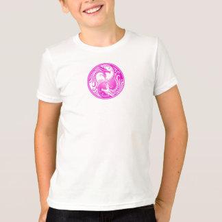 Purple Yin Yang Dragons T-Shirt