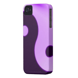 Purple yin yang iphone 4 barely case iPhone 4 Case-Mate cases