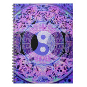Purple Yin Yang Notebook (<em>$13.70</em>)