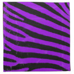 Purple Zebra Cloth Napkin
