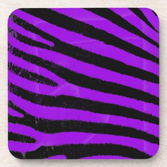 Purple Zebra Coaster
