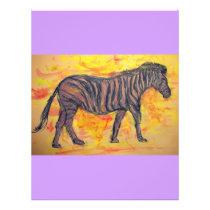 purple zebra flyer