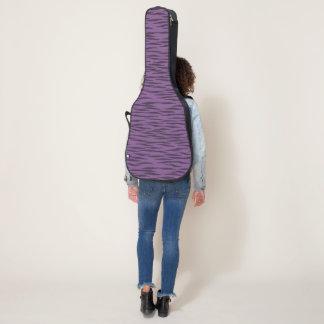 Purple Zebra guitar case