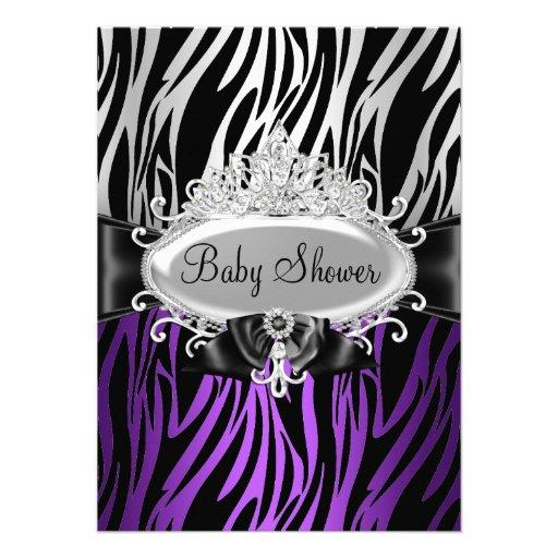 2 000 zebra print baby shower invitations zebra print baby shower