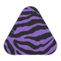 Purple Zebra Stripe Animal Print Bluetooth Speaker