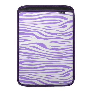 Purple Zebra stripe pattern MacBook Air Sleeve