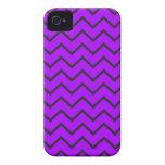 Purple Zigzag iPhone 4/4S Case iPhone 4 Case-Mate Case