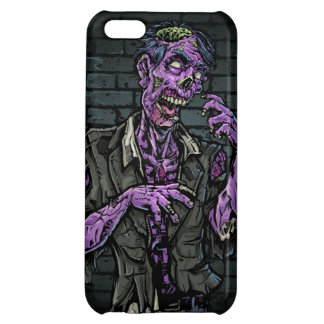 Purple Zombie Cover For iPhone 5C