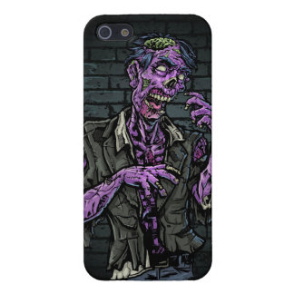 Purple Zombie Cover For iPhone SE/5/5s