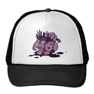 Purple Zombie Doll Trucker Hat