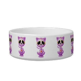 Purple Zombie Sugar Kitten Bowl