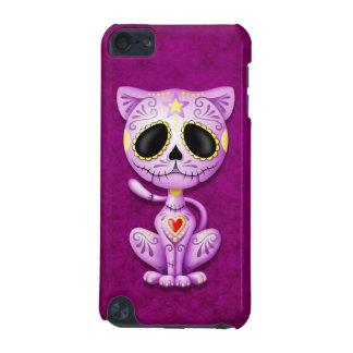 Purple Zombie Sugar Kitten iPod Touch 5G Cases
