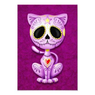 Purple Zombie Sugar Kitten Cat Announcement