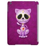 Purple Zombie Sugar Kitten Cat iPad Air Case