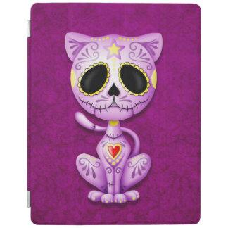Purple Zombie Sugar Kitten iPad Cover