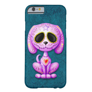 Purple Zombie Sugar Puppy Barely There iPhone 6 Case