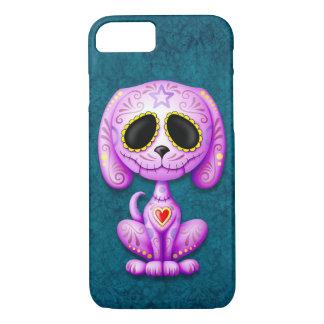Purple Zombie Sugar Puppy iPhone 7 Case