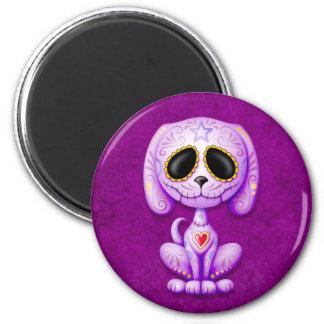 Purple Zombie Sugar Puppy Magnet