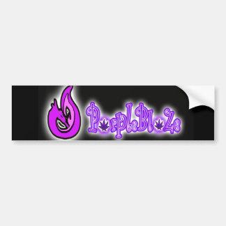 PurpleBlaZe logo sticker