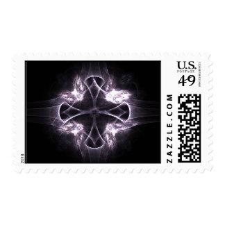 purplecross stamp