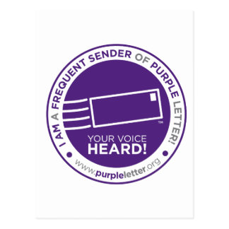 PurpleLetter_FrequentSender_Seal Postcard