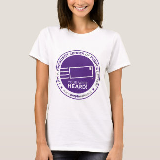 PurpleLetter_FrequentSender_Seal T-Shirt