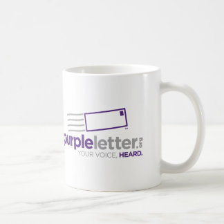 PurpleLetter_Logo+Tag Coffee Mug