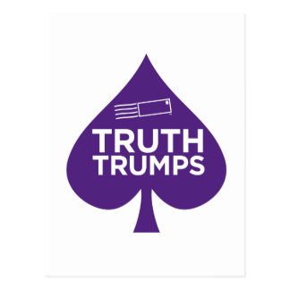PurpleLetter_TruthTrumps Postcard