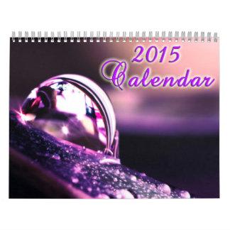 PurpleNatureCalendar2015 Calendar