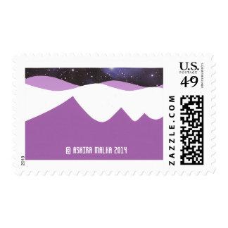 Purpler Mountains' Majesty Postage
