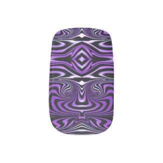 PurpleRise Minx Nail Art, Single Design per Hand Minx Nail Wraps