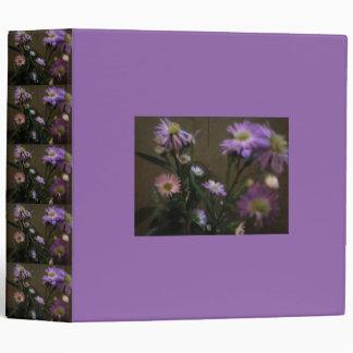 Purples In Wildflowers Binder