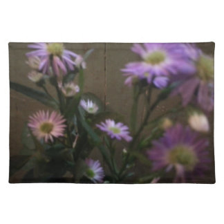 Purples In Wildflowers Cloth Placemat