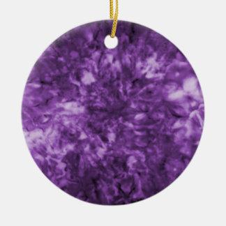 Purplescape Collectible Ceramic Ornament