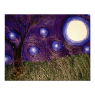 purplesky 4.25x5.5 paper invitation card
