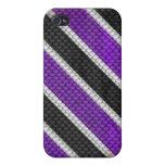 PurpleSnake iPhone 4 Cárcasas