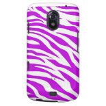 PurpleWhiteZebraStripes.jpg Samsung Galaxy Nexus Covers