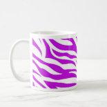 PurpleWhiteZebraStripes.jpg Coffee Mug