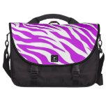PurpleWhiteZebraStripes.jpg Commuter Bags