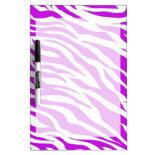 PurpleWhiteZebraStripes.jpg Dry-Erase Boards