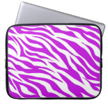 PurpleWhiteZebraStripes.jpg Laptop Sleeves