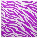 PurpleWhiteZebraStripes.jpg Napkins