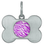 PurpleWhiteZebraStripes.jpg Pet Name Tag