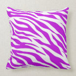 PurpleWhiteZebraStripes.jpg Pillow