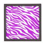 PurpleWhiteZebraStripes.jpg Premium Gift Box