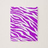 PurpleWhiteZebraStripes.jpg Puzzle