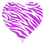 PurpleWhiteZebraStripes.jpg Stickers