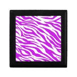PurpleWhiteZebraStripes.jpg Trinket Box